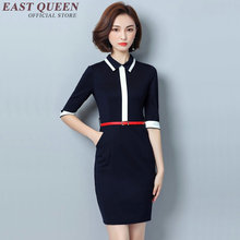 Buy Business dress clothes women business casual clothing office dresses women 2017 white collar dress DD074 C for $55.00 in AliExpress store