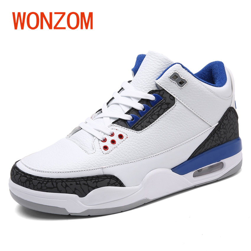 WONZOM New Arrival 2018 Men Fashion Waterproof Leather Ankle Shoes High Top Casual Shoes For Man Male Sapatos Plus Size 39-47<br>