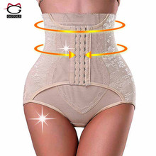 High Waist Trainer Tummy Control Panties Butt Lifter Body Shaper Corsets Hip Abdomen Enhancer Shapewear Underwear Panty Hooks