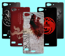 Ice and Fire Cover Relief Shell For Lenovo Vibe X2 Cool Game of Thrones Phone Cases For Lenovo lemon x3 lite