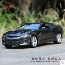 2016 All New Chevrolet Camaro SS Maisto 1:18 Supercar simulation alloy car models Black Trans formers Furious 7 Collectible toys