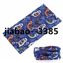 High Quality Digital Printed Custom Seamless cartoon Bandana multifunctional cheap bandanas Half Face unisex Mask free shipping