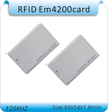 Free shipping 10pcs 125KHZ 1.8mm thick Long distance reader range EM ID Card use for rfid proximity 1M range card reader(China)