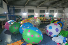 Z127 Free shipping Whole sale 3m height giant inflatable easter eggs, inflatable egg/Easter Eggs Balloons for event decoration,