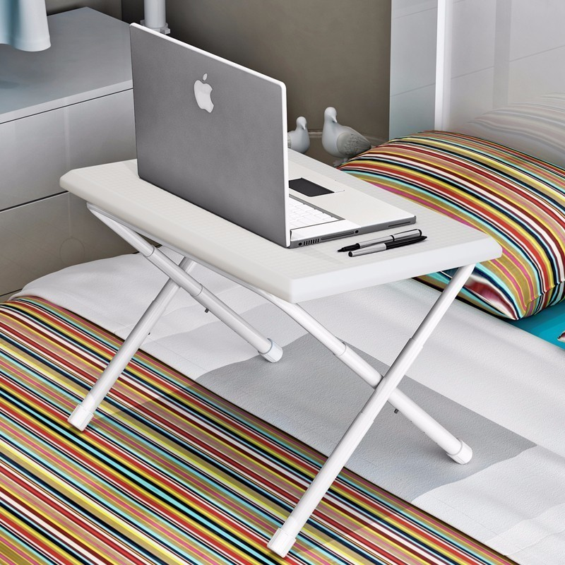 BSDT Telescopic lazy plastic table folding simple notebook comter desk modern minimalist dorm bed FREE SHIPPING<br>