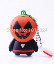 New arrive real capacity pumpkin USB  4GB-64GB  Flash Memory Stick Pen Drive Disk for Laptop Computer Hallowmas S504 Halloween