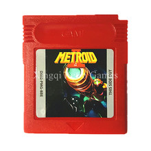 Nintendo Game Boy Color Metroid 2 Video Game Cartridge Console Card English Language