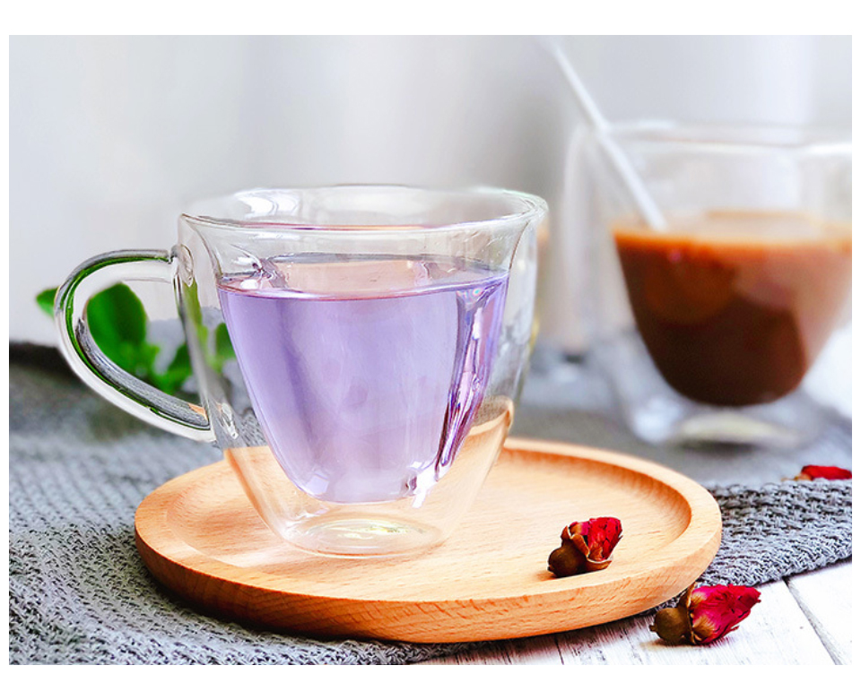 Heat Resistant Double Wall Glass CoffeeTea Cups And Mugs Travel Double Coffee Mugs With The Handle Mugs Drinking Shot Glasses  (9)