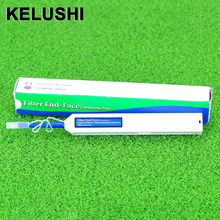 KELUSHI Fiber Optical Cable Tools Fibra Optical Connector Cleaner Cleans LC/MU 1.25mm Adapters Ferrules with 800+ Cleanings