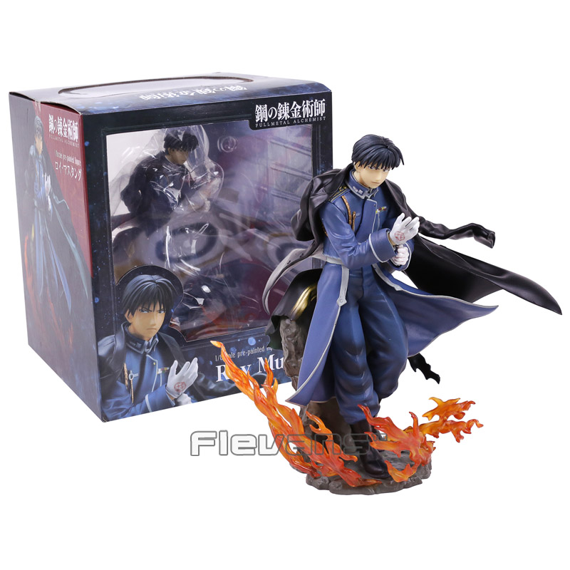 Anime Fullmetal Alchemist Roy Mustang 1/8 Scale Pre-Painted Figure Collectible Model Toy 21cm<br>