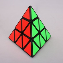Triangle Pyramid Pyraminx Magic Cube Puzzle Speed New Creative Design Random Color Twist Intelligence Toys
