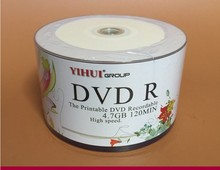 Wholesale 10 discs A+ Yihui 16x 4.7 GB Blank Printable DVD R