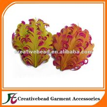 free shipping fashion curl nagorie feather pad 30pcs/lot(China)
