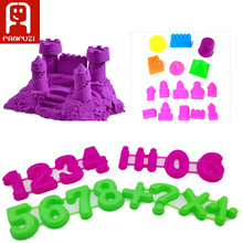Portable Castle Sand Clay Novelty Toys Model Clay For Moving Magic Sand Toys Gift  Sand model