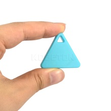 NEW Mini Triangle Wireless Smart Tag Bluetooth Anti Lost Alarm Tracker 5 Colors Available GPS Locator Alarm Keychain