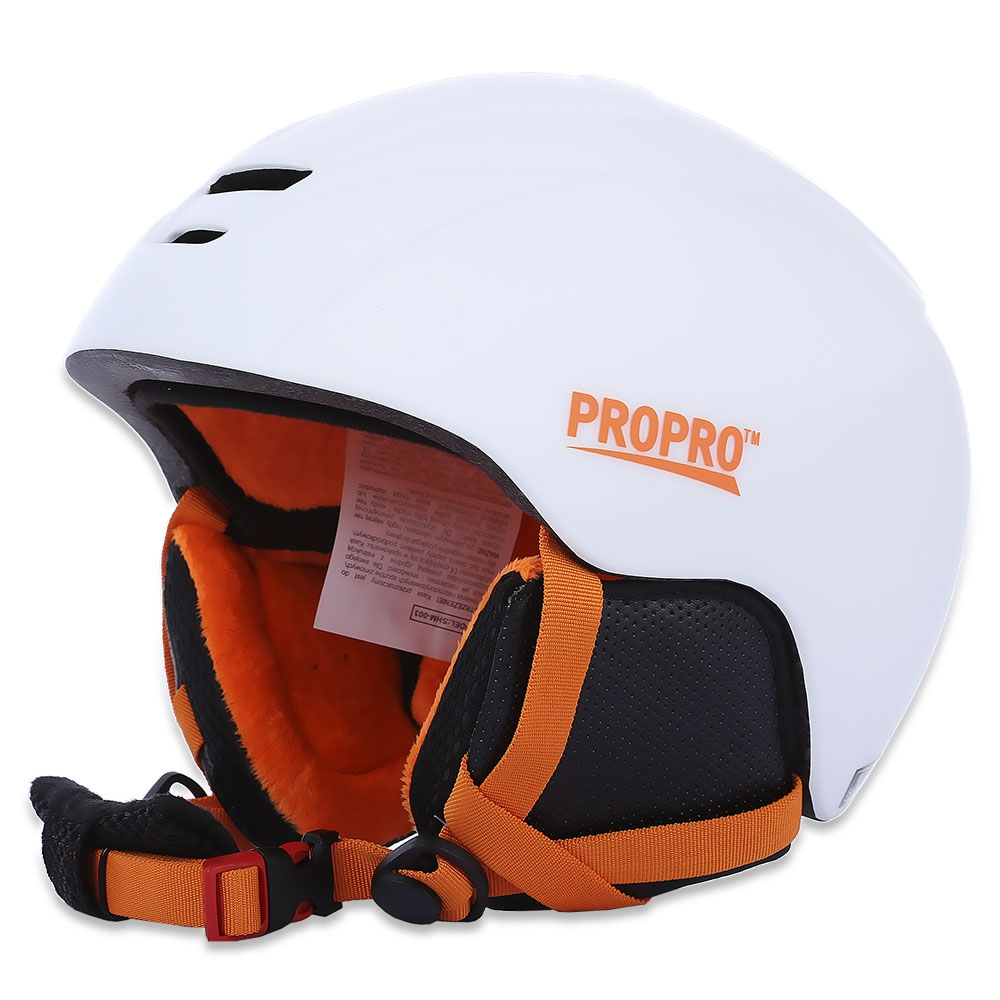 2017 NEW All-in-one Skiing Helmet 2 Colors Windproof Skiing Helmet With Inner Adjustable Buckle Liner Cushion Layer For Skiing<br><br>Aliexpress