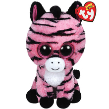 "Ty Beanie Boos Zoey The Pink Zebra 6"" Plush Beanie Babies Plush Stuffed Collectible Soft Doll Toy"