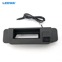 Car Trunk Handle CCD Reverse Camera Night Vision Backup Rearview Camera for Mercedes Benz W205 C-class 2015 2016 Parking line(China)