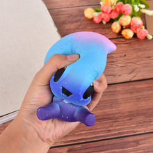 12.5*9*8.5cm Water Drops Hand Massage toy Baby Cream Scented Squishy Slow Rising Squeeze Toy Phone Charm Straps(China)