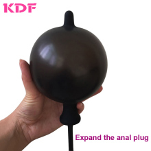 Buy Inflatable Butt Plug Expandable Anal Dilator Inflate Anal Plug Anal Dildo Air-filled Pump Sex Toy Men Woman Gay vibrator