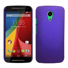 Phone Case Hard Rubberized Matte Snap-On Cover Case For Motorola Moto G 2014 / G+1/ G2 Cellphone Cases New In Stock +Tracking