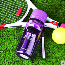 2017 New fashion sport style super large plastic bottle with creative design taking care of your health and life