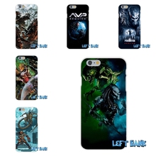 alien vs predator Hunter logo Soft Silicone TPU Transparent Cover Case For Samsung Galaxy A3 A5 A7 J1 J2 J3 J5 J7 2016 2017(China)
