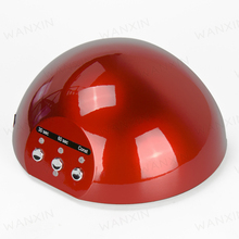 New Professional CCFL 18w LED Nail Gel Curing UV Lamp For Nail Polish EU AU US UK Plug Nail Polish Dryer Red