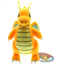 "Pokemon Plush Toy Dragonite 9"" Collectible Charizard Stuffed Animal Doll Gifts"