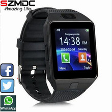 2017 New Smart Watch dz09 With Camera Bluetooth WristWatch SIM Card Smartwatch For Ios Android Phones Support Multi languages(China)