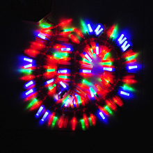 For 1 Meter  oration rattle lantern led electronic firecrackers string light fireclays artificial belt