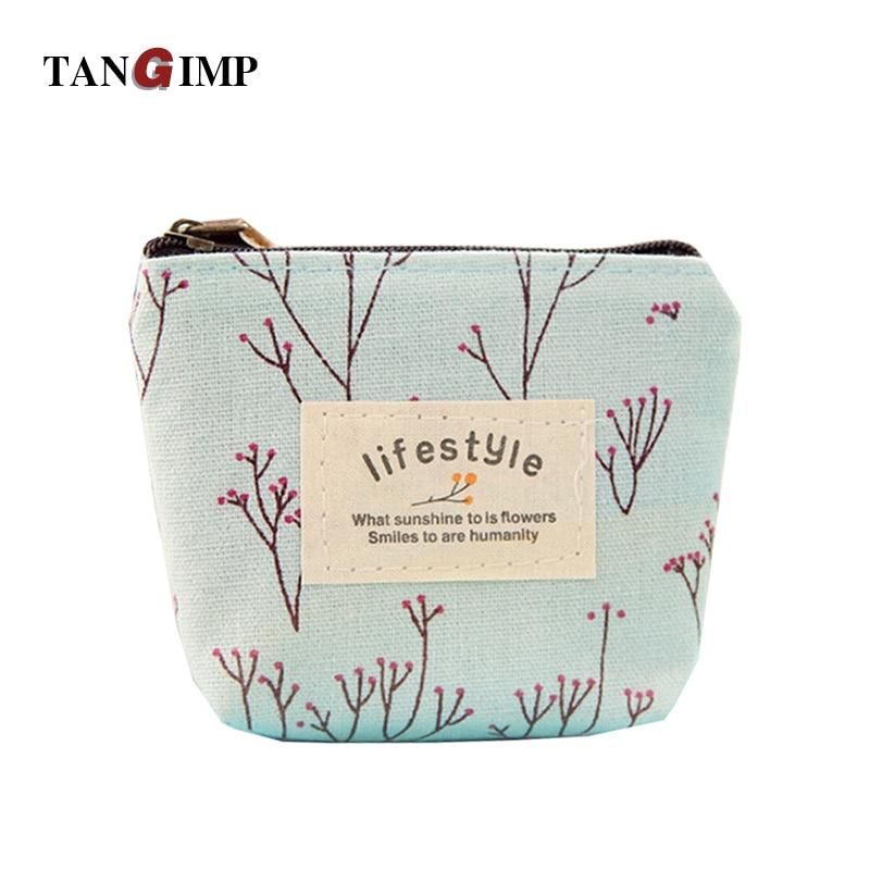 TANGIMP 2016 Women Canvas Floral Mini Purse Vintage Wallets Storage Bags monederos Card Bags bolsas carteira feminina<br><br>Aliexpress