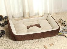 Manufacture kennel pet dog bed cat mattress, plush doggie lounger beddings