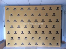 Free Shipping!10ft TENSION FABRIC VELCRO POP UP DISPLAY