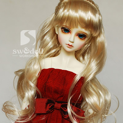 1/3 1/4 scale BJD wig Long hair for BJD/SD DIY doll accessories.Not included doll,clothes,shoes,and other 16C1029<br>