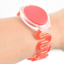 100pcs/lot 13.56MHz RFID Silicone Wristband Bracelet NFC Smart Proximity Card Waterproof for Access Control(China)