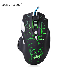 High Quality 5500DPI Wired Gaming Mouse 8 Buttons USB Optical Mouse Gamer Mice Computer Mouse Q7 For PC Laptop Desktop
