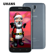 UHANS A101S Mobile Phone Android 6.0 MTK6580 1.0GHz Quad Core 5.0inch 2GB RAM 16GB ROM 8.0MP 3G WCDMA 2450Mah battery Smartphone(China)