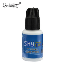 1 Bottle Super Type Sky Glue for Eyelash Extension Fast Drying Professional Eyelash Glue from Korea Last Over 6 Weeks 5ml(China)