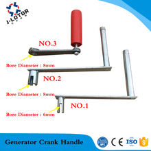 Hand handle Multi style 6mm 8mm Shaft diameter  seven font style Gear motor Hand generator motor Crank handle