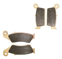 Brake Pads set for KAWASAKI Dirt KX500 KX 500 E8-E9 1996 1997 1998 1999 2000 2001 2002 2003 2004 / SUZUKI SBK2 250 LX 250L 2002