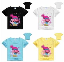 Best selling arrivals kids t-shirt trolls clothes short sleeves tshirt boys clothes boys t shirt sweatshirt kids summer clothes