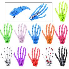 Fashion Girl Celebrity Halloween Party Women Zombie Skull Skeleton Hand Bone Claw Punk Hairpins Hair Clips Gifts
