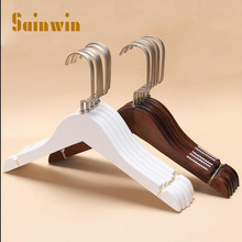 Sainwin 10pcs/lot children wood hangers for clothes rack baby wooden hanger (Can free LOGO)