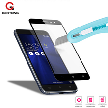 GerTong Full Cover Screen Protector For ASUS Zenfone 3 ZE520KL Max ZC520TL 3s ZC521TL ZE552KL ZE553KL ZC553KL ZB501KL Glass Case