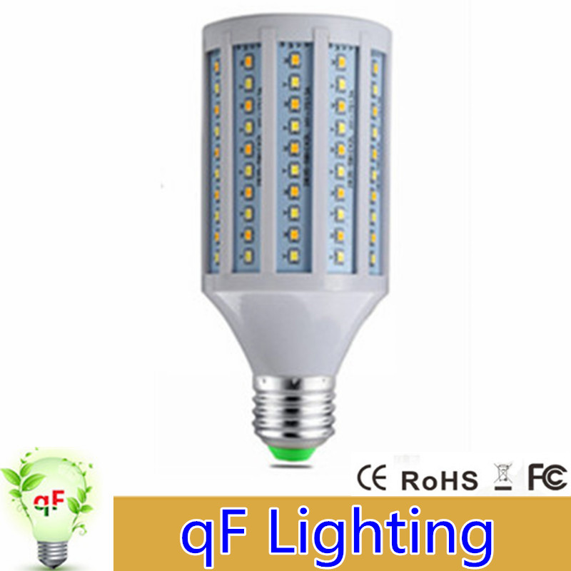 No Flicker Long Life LED Corn lamp E27 25W 3 sections Dimmable 85-265V Led Spot light bulb with Smart IC Driver Lampada led<br><br>Aliexpress