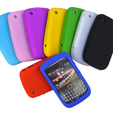 Useful Hot Soft Silicone Skin Case Back Cover For BB Blackberry Curve 8520 8530