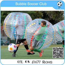 Red Inflatable Ball Suit,Soccer Bubble,PVC  Bubble Soccer
