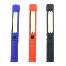 szKosTon COB LED Mini Pen Multifunction Working Inspection light Portable Maintenance flashlight Hand Torch lamp With Magnet AAA(China)