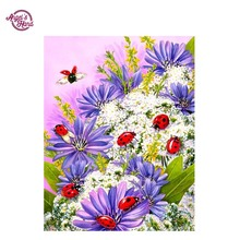 ANGEL'S HAND Pattern Diamond Embroidery DIY Needlework flower Diamond Painting Cross Stitch 3D 5D Rhinestones Decor Paintings